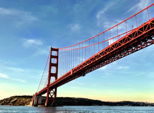 Golden Gate Bridge Closeup: Photo by Lateef McLeod, Lateef's View of the Bay